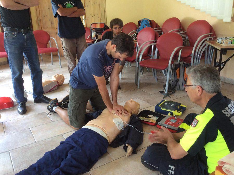 Formation premiers secours Beaufortain