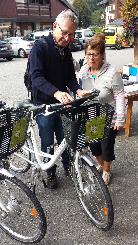 action de promotion du vélo à assistance électrique