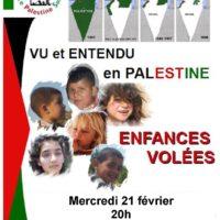 Projection – Vu et entendu en Palestine
